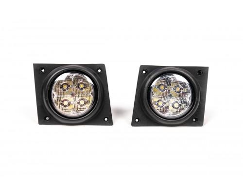 Противотуманки LED (диодные) для Fiat Fiorino/Qubo 2008+