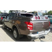 Fiat Fullback 2016+ гг. Кунг на крышу (GrandBox)