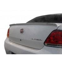 Спойлер на 1 часть (под покраску) для Fiat Linea 2006+ и 2013+