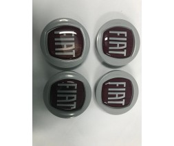 Fiat Linea 2006↗ и 2013↗ гг. Колпачки в оригинальные диски 49/42,5 мм (4 шт)