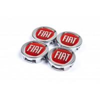 Колпачки в оригинальные диски 49/42,5 мм (4 шт) для Fiat Linea 2006+ и 2013+