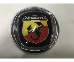 Fiat Panda 2003-2011 гг. Значок (Abarth, самоклейка) 120 мм
