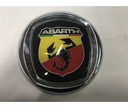 Fiat Punto Grande/EVO 2006+ и 2011+ гг. Значок (Abarth, самоклейка) 85 мм