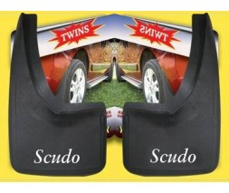 Fiat Scudo 2007-2015 гг. Брызговики (2 шт)