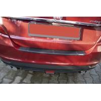 Fiat Tipo 2016+ гг. Накладка на задний бампер EuroCap (ABS)