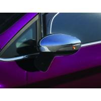 Накладки на зеркала (2 шт, пласт) OmsaLine - Турция для Ford B-Max 2012+