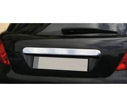 Ford C-Max 2004-2010 гг. Хром планка над номером (нерж.) Carmos - Турецкая сталь
