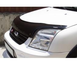 Ford Connect 2006-2009 гг. Дефлектор капота EuroCap