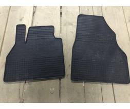 Ford Connect 2014+ гг. Резиновые коврики (2 шт, Polytep)