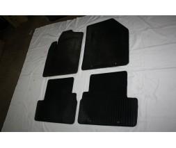 Ford Connect 2014+ гг. Резиновые коврики (4 шт, Polytep)