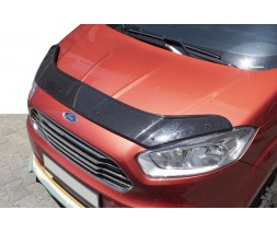 Ford Courier 2014↗ гг. Дефлектор капота EuroCap
