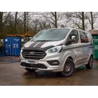 Ford Custom 2013+ Дефлектор капота EuroCap (2018-2021)