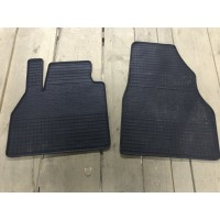 Резиновые коврики (2 шт, Polytep) для Ford Custom 2013+