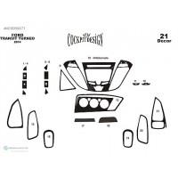 Ford Custom 2013+ гг. Накладки на панель Дерево