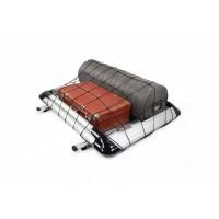 Багажник с поперечинами и сеткой (125см на 220см) Серый для Ford Custom 2013+
