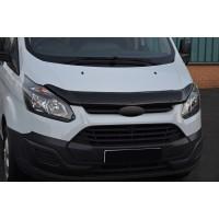 Ford Custom 2013+ Дефлектор капота EuroCap (2013-2018)
