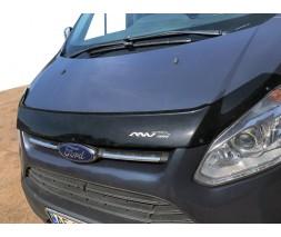 Ford Custom 2013↗ гг. Дефлектор капота ANV длинная (2013-2018)