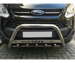 Ford Custom 2013+ гг. Кенгурятник WT004 (нерж.) 60 мм