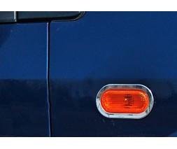 Ford Fiesta 2002-2008 гг. Обводка поворотника (2 шт., нерж)