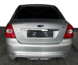 Ford Focus II 2008-2011 гг. Накладка на задний бампер Sedan (под покраску)