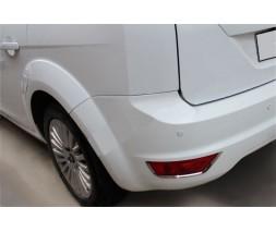 Ford Focus II 2008-2011 гг. Накладки заднего рефлектора (2 шт, нерж)