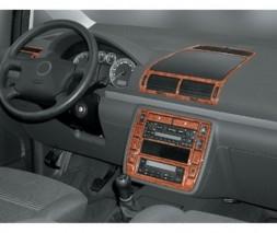 Ford Galaxy 1995-2006 гг. Накладки на панель Карбон