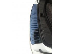 Ford Galaxy 1995-2006 гг. Накладка на задний бампер Carmos (нерж)