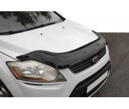 Ford Kuga 2008-2013 гг. Дефлектор капота EuroCap