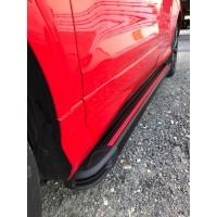 Ford Kuga/Escape 2019+︎ гг. Боковые пороги Maya Red (2 шт., алюминий)