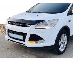 Ford Kuga/Escape 2013-2019 гг. Дефлектор капота 2013-2016 EuroCap