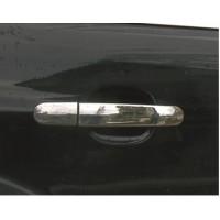 Накладки на ручки (4 шт., нерж.) Без чипа, Carmos - Турецкая сталь для Ford Kuga/Escape 2013-2019