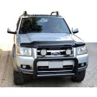 Ford Ranger 2007-2011 гг. Дефлектор капота EuroCap (2007-2009)