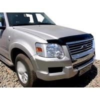 Ford Ranger 2007-2011 Дефлектор капота VIP (2007-2009)