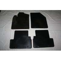 Резиновые коврики 2 шт (Stingray, резина) для Ford Ranger 2011+