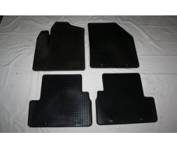 Ford Ranger 2011+ гг. Резиновые коврики 2 шт (Stingray, резина)