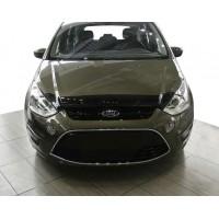 Дефлектор капота 2010-2021 (VIP) для Ford S-Max 2007-2014