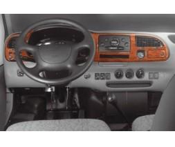 Ford Transit 1991-2000 гг. Накладки на панель (1997-2000) Карбон