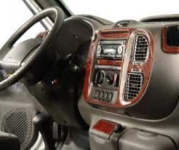 Ford Transit 2000-2014 гг. Накладки на панель (2000-2006 года) Дерево
