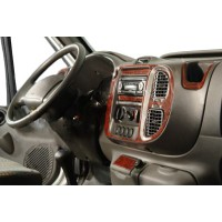 Ford Transit 2000-2014 гг. Накладки на панель (2000-2006 года) Титан