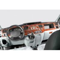 Ford Transit 2000-2014 гг. Накладки на панель (2006+) Карбон