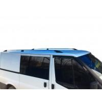 Ford Transit 2000-2014 Рейлинги Хром Пластиковые концевики