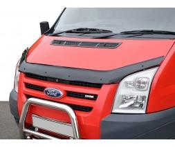 Ford Transit 2000-2014 гг. Дефлектор капота 2006-2014 EuroCap