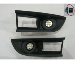 Ford Transit 2000-2014 гг. Противотуманки (LED-диоды, модель 2006-2021)