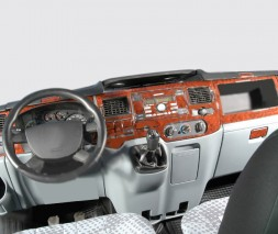 Ford Transit 2000-2014 гг. Накладки на панель (2006↗) Титан