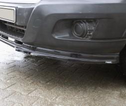 Ford Transit 2014+ гг. Передняя лип юбка (2014-2019, ABS)