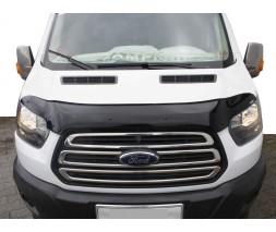 Ford Transit 2014↗ гг. Дефлектор капота EuroCap