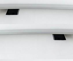 Газель, соболь Рейлинги DD (2 шт, алюм) 340 см, Хром