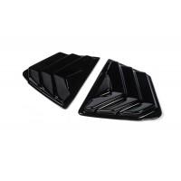 Накладки на треугольники зеркал (2 шт, ABS) для Honda Civic Sedan IX 2012-2016