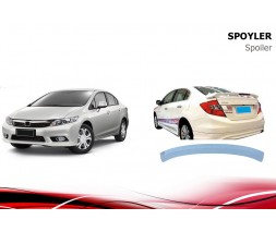 Honda Civic Sedan IX 2012-2016 Спойлер Niken V1 (под покраску)