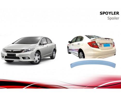 Спойлер Niken V1 (под покраску) для Honda Civic Sedan IX 2012-2016